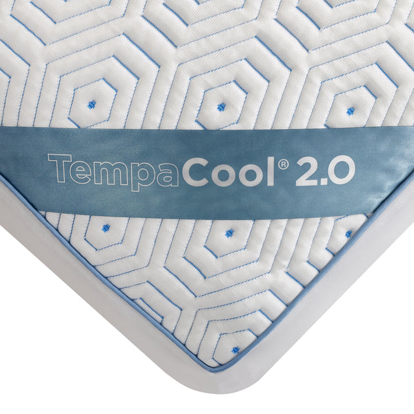 "Pure Sleep TempaCool Mattress Protector, Cool Touch Technology, Breathable, Waterproof, Fits Up to 21"" Mattress, Machine Washable, Hypo Allergenic"