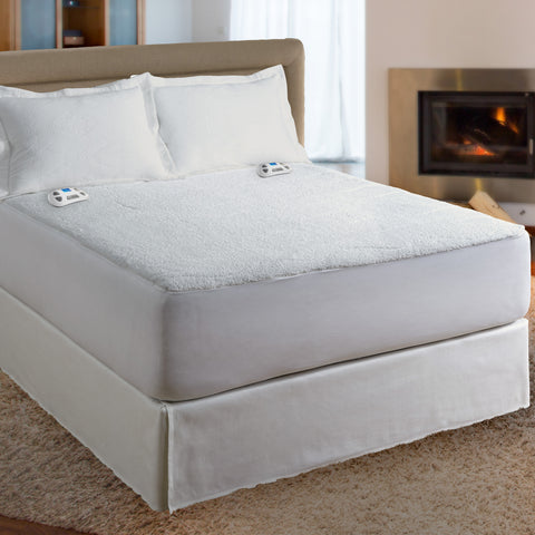 Serta Sherpa Mattress Pad 110 Volt with Programmable Digital Controller
