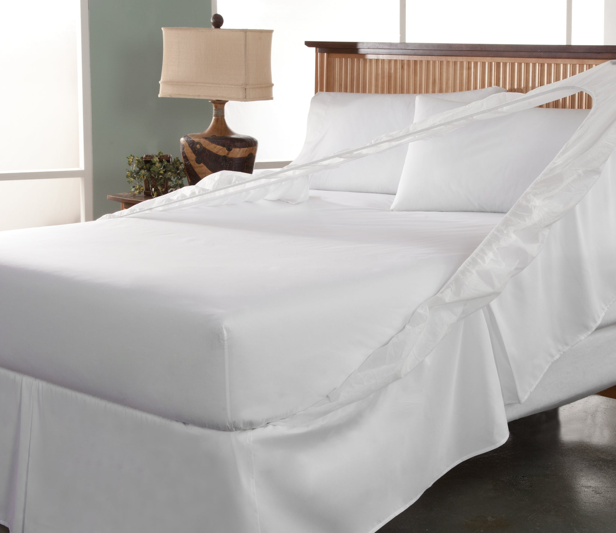 Perfect Fit Bedskirt and Box Spring Protector