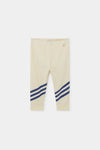 bobo choses baby legging three stripes