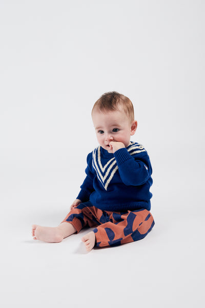 Bobo choses Knitted Jumper Three Stripes