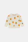Bobo choses Baby knitted jumper Oranges