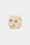 bobo choses baby knitted culotte oranges