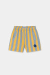 Bobo Choses Fleece Bermuda Striped Short