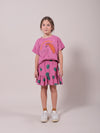 Bobo Choses Tomatos all over ruffle mini skirt