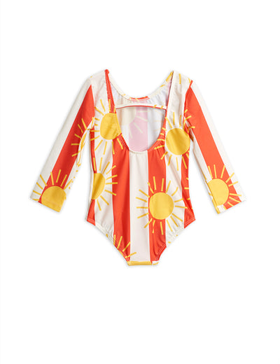 Mini Rodini Sun Stripe Longsleeve Swimsuit MR