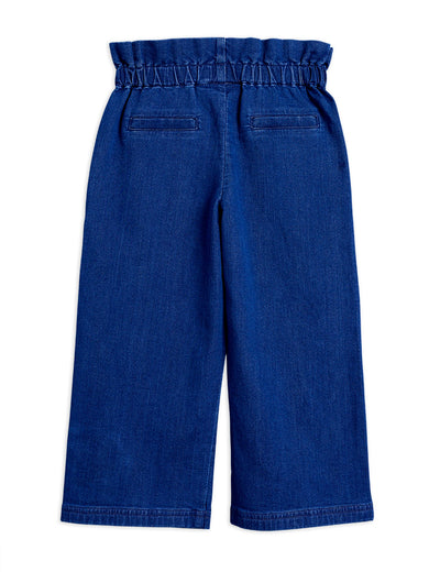Mini Rodini Denim Paper Bag Trousers