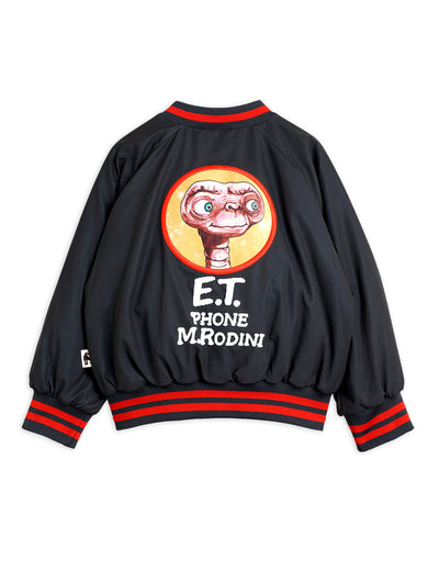 Mini Rodini E.T. Reflective baseball jacket