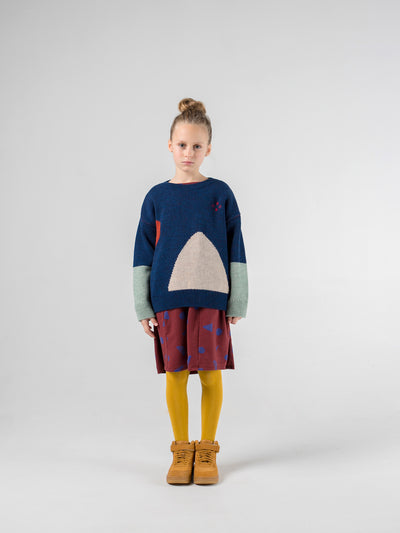Bobo Choses Knit Jumper Mountain Jacquard