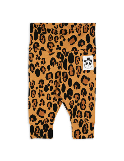Mini Rodini Basic NewBorn Leggings Leopard