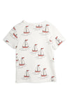 Mini Rodini Sailing Boats aop Tee