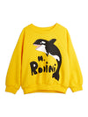Mini Rodini Orca Sweatshirt Yellow