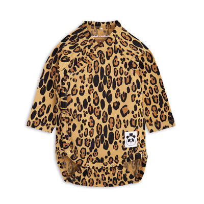 Mini Rodini Basic leopard wrap new material lyocell