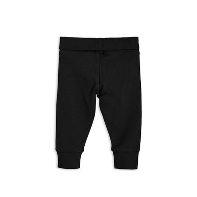 Mini Rodini Basic Legging Newborn Black