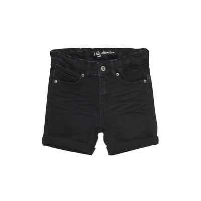 I Dig Denim Bobby shorts Black