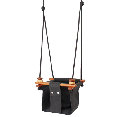 Solvej Baby and Toddler Swing - Dark Grey MR