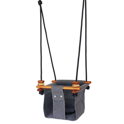 Solvej Baby and Toddler Swing - Slate MR