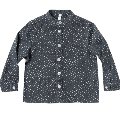 Rylee + Cru Mock Neck Shirt Dot (last one 18/24mths)