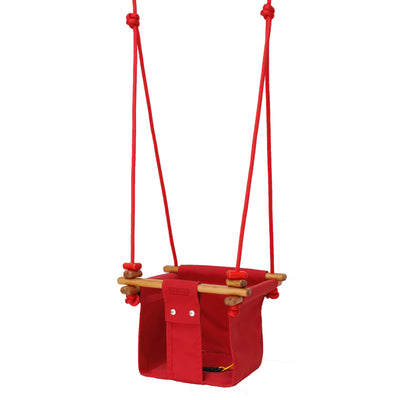 Solvej Baby and Toddler Swing - Red MR
