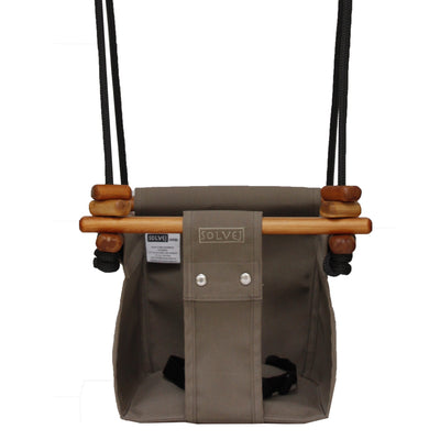 Solvej Baby and Toddler Swing - Taupe MR