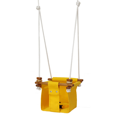 Solvej Baby and Toddler Swing - Yellow MR