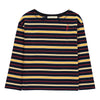 Hundred Pieces Flash Long Sleeve Striped T-shirt