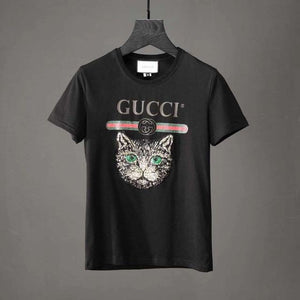 Camiseta Mistic Cat  Gucci