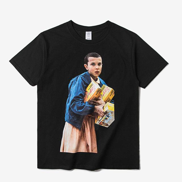 Camiseta Eleven Stranger Things / Casual