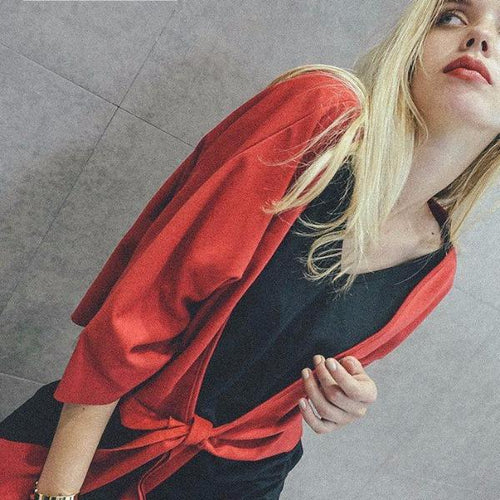 Blusa Solid Red