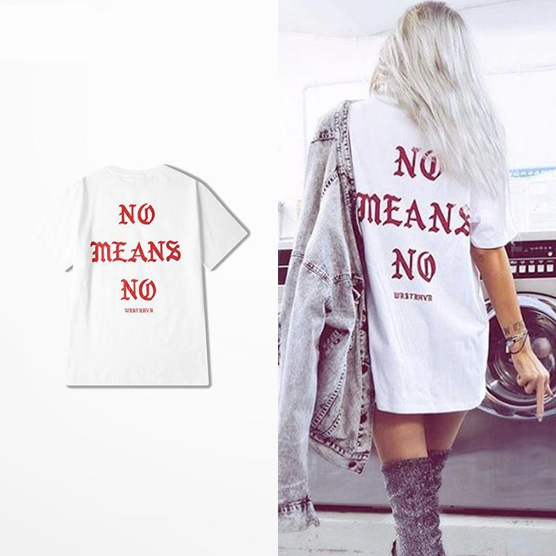 Camiseta NO MEANS NO