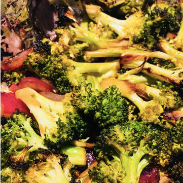 Garlic and Balsamic Grilled Broccoli