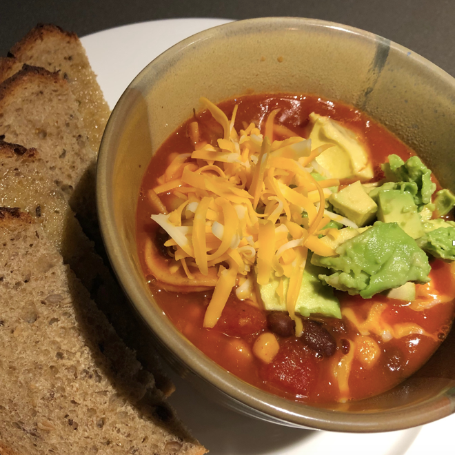 Chipotle Tex Mex Soup