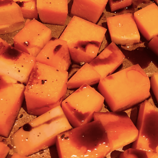 Espresso and Blood Orange Roasted Squash