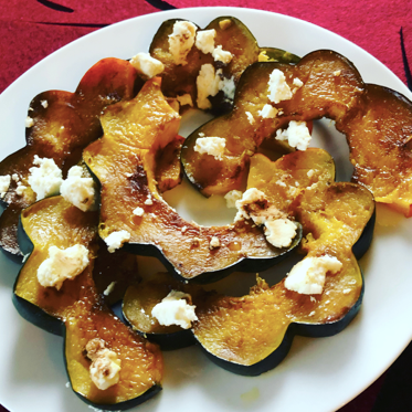 Blood Orange Cranberry Roasted Acorn Squash