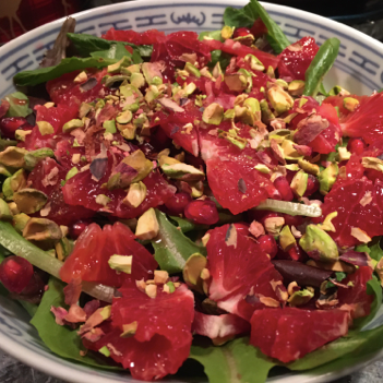 Blood Orange, Citrus and Nut Salad