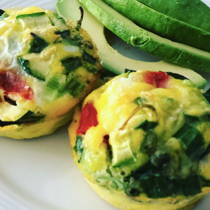 Milanese Egg Cups Florentine
