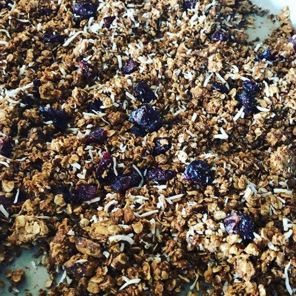 Blueberry & Coconut Granola