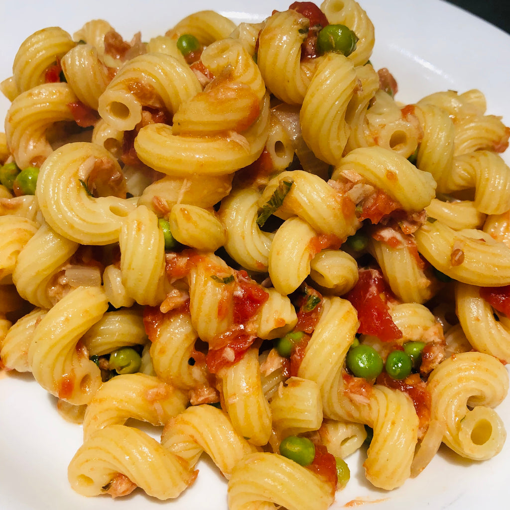 Pasta con Tonno (Pasta with Tuna)