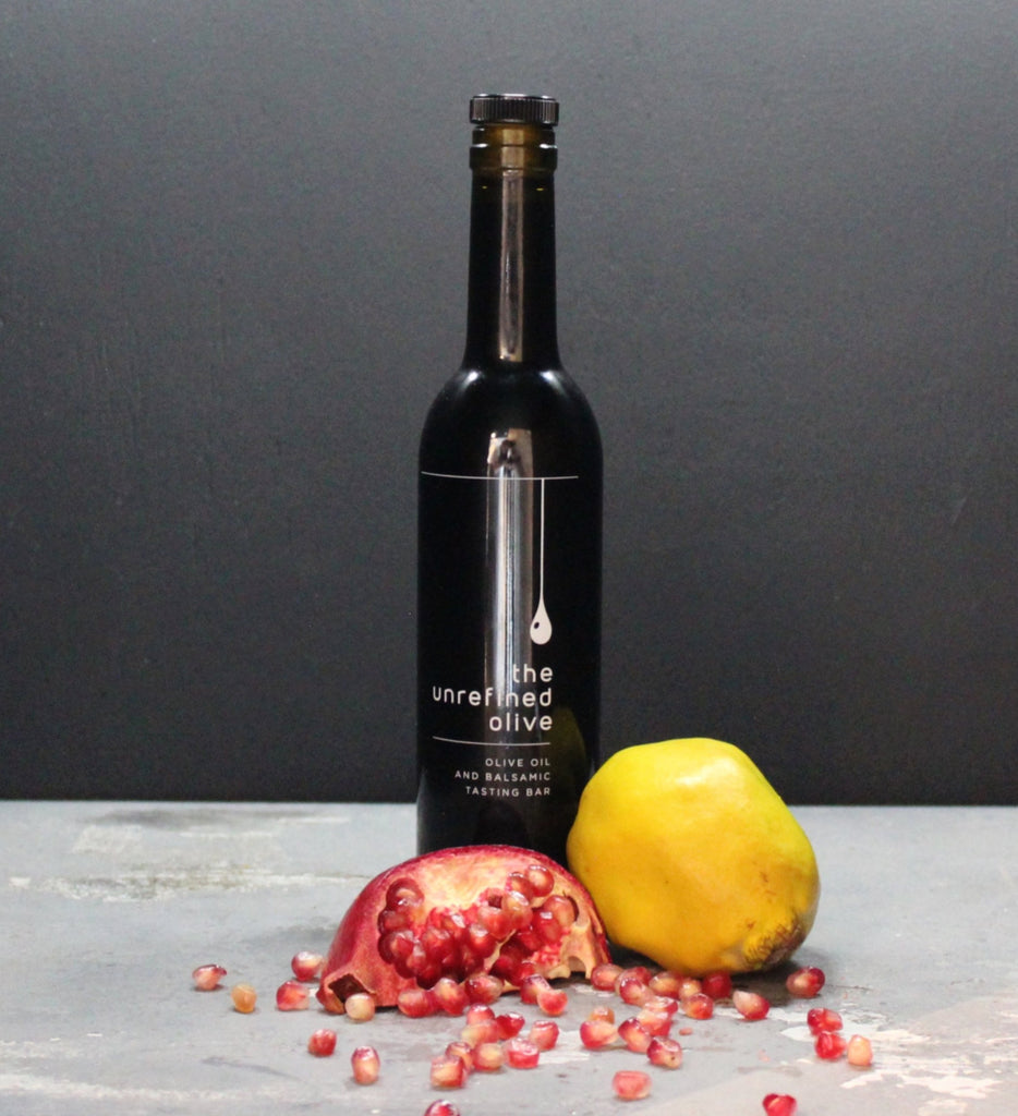 Pomegranate Quince White Balsamic Vinegar