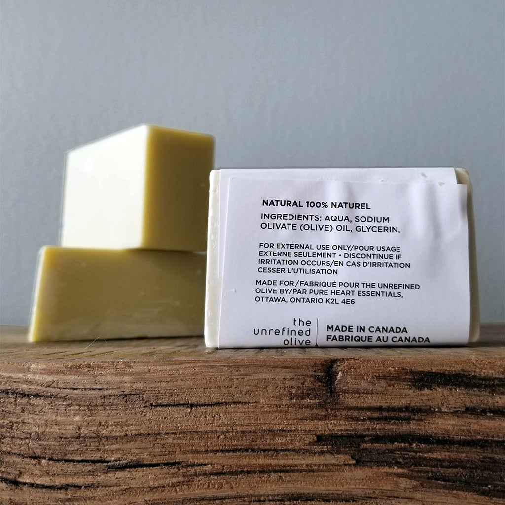 Extra Virgin Olive Oil Soap ingredients