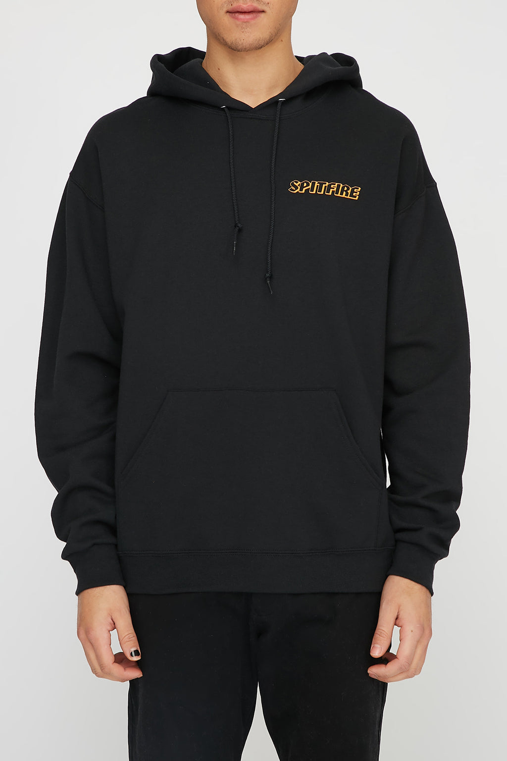 Spitfire Mens Classic Black Hellfire Hoodie