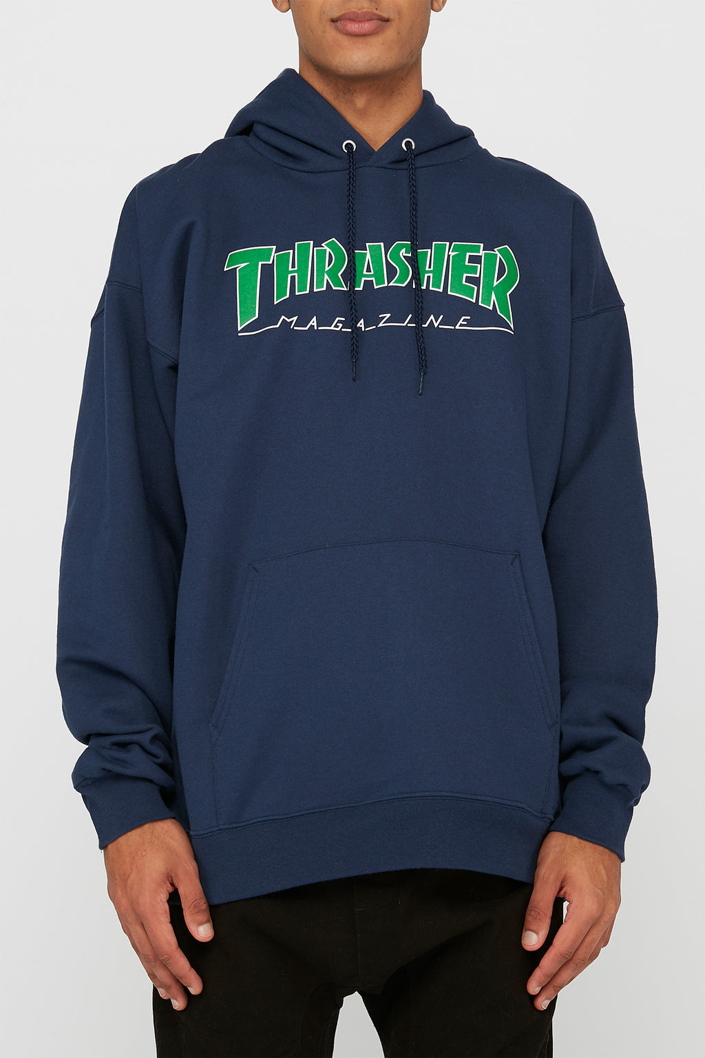 Thrasher Outlined Logo Hoodie