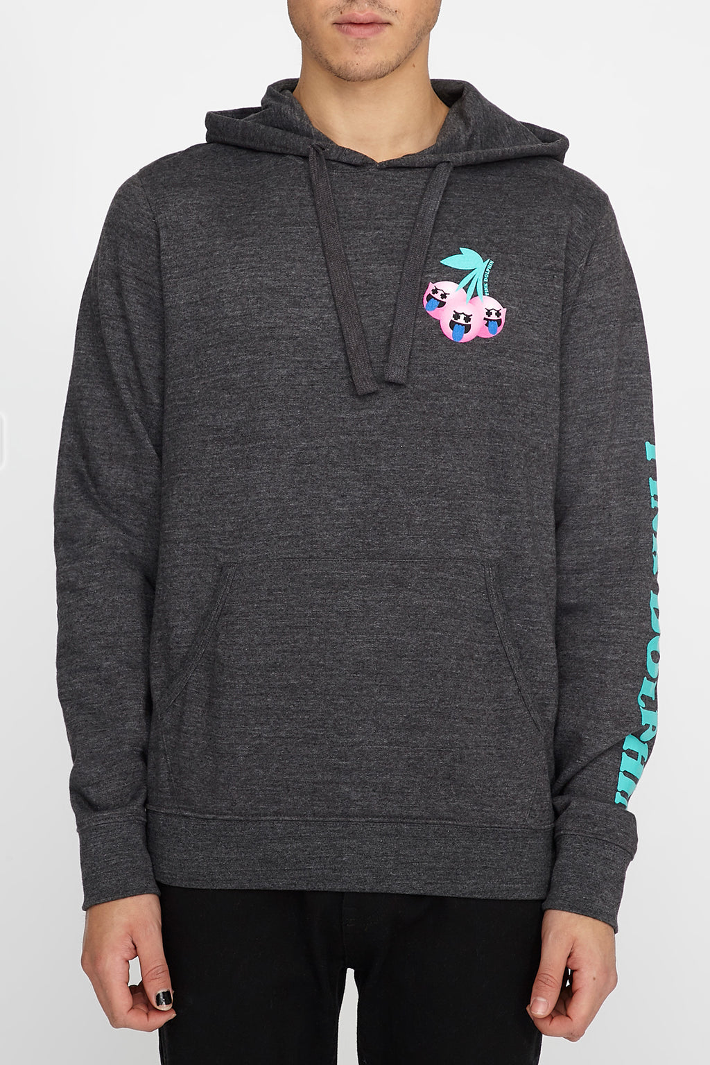 Pink Dolphin Mens Ghost Cherry Hoodie
