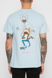 Primitive X Rick and Morty Skate T-Shirt