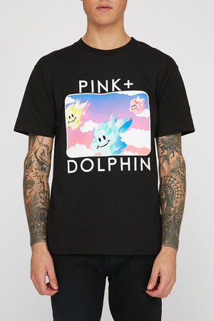 Pink Dolphin Mens Mr Positive T-Shirt