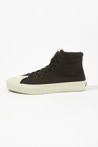 Straye Mens Venice Black Bone Sneakers