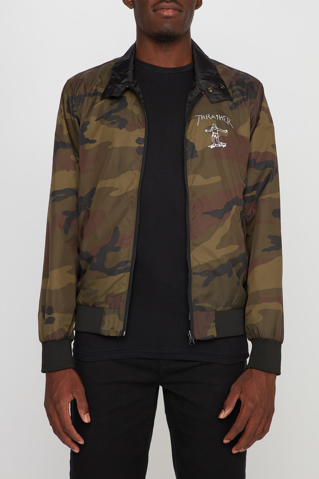 Thrasher Mag Men's Reversible Jacket