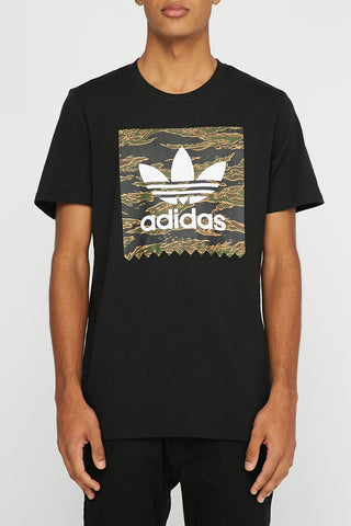 Adidas Mens Camo Box T-Shirt