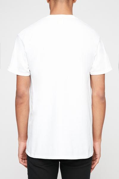 Thrasher Mens White Flame Tee