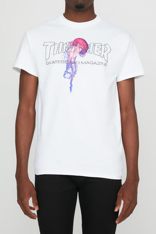 Thrasher Guys Atlantic Drift White Tee